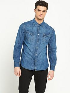 wrangler-wrangler-slim-fit-city-western-denim-shirt