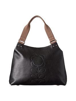 orla-kiely-leather-shoulder-bag