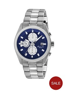 kenneth-cole-kenneth-cole-chronograph-blue-dial-stainless-steel-watch