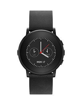 pebble-round-black-smart-watch