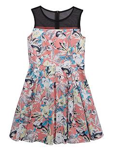 v-by-very-girls-mesh-yoke-floral-print-dressnbsp