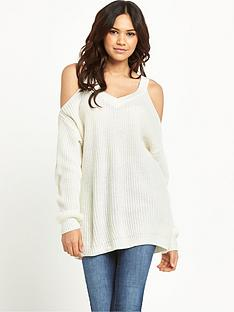 vero-moda-sibbo-cold-shoulder-knitted-jumper