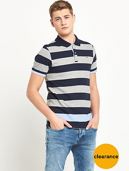 hilfiger-denim-hilfiger-denim-basic-stripe-ss-polo-shirt