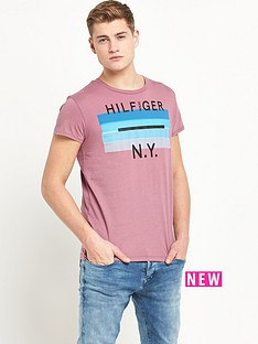 hilfiger-denim-hilfiger-denim-single-jersey-ss-t-shirt