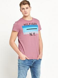 hilfiger-denim-single-jersey-short-sleevenbspt-shirt