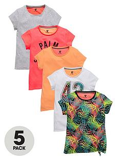 v-by-very-girls-sporty-essentials-t-shirts-5-pack