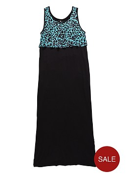 v-by-very-girls-leopard-frill-maxi-dress