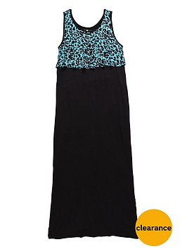 v-by-very-girls-leopard-frill-maxi-dress