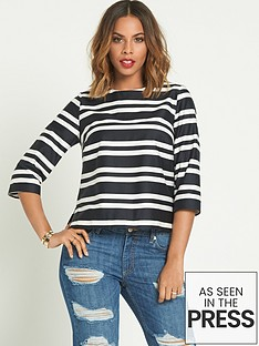 rochelle-humes-striped-shell-top