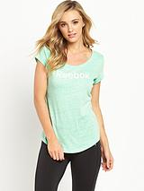 REEBOK ELEMENTS LOGO TEE