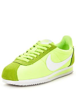 nike-classic-cortez-nylon-fashion-shoes-greennbsp