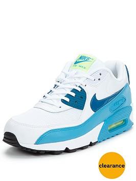 nike-air-max-90-essentialnbspfashion-shoe-whitebluenbsp