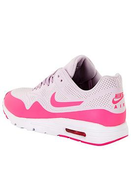 oqamy Nike Air Max 1 Ultra Moire Fashion Shoe - Lilac/Pink | very.co.uk