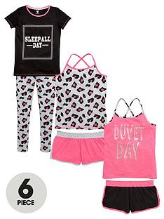 v-by-very-girls-pink-leopard-pyjamas-set-6-piece