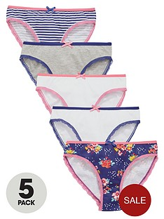 v-by-very-girls-stripe-and-floral-briefs-5-pack