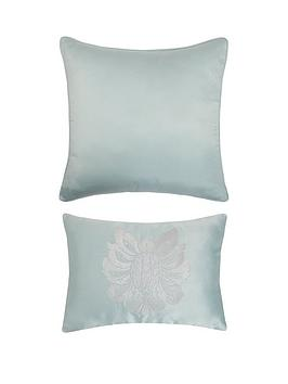 Product photograph showing Boston Cushions Pair