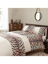 Animal Print Bed in a Bag - White/Red