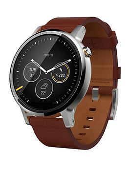 motorola-360-2-smart-watch-leather