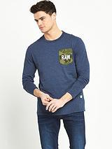 G-Star Raw Garain Pocket Long Sleeve T-Shirt