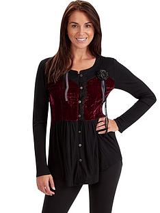 joe-browns-joe-browns-luxurious-crushed-velvet-blouse