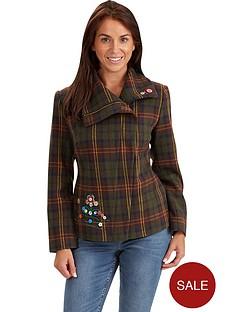 joe-browns-joe-browns-checked-biker-jacket