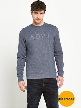 adpt-leaf-crew-neck-top