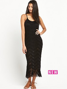 superdry-zea-tassel-crochet-dress