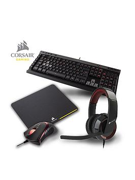 corsair-pc-gaming-accessory-bundle-headset-keyboard-mouse-and-mouse-mat