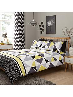 geometric-duvet-cover-and-pillowcase-set