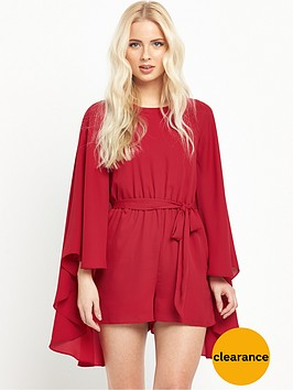v-by-very-cape-playsuit