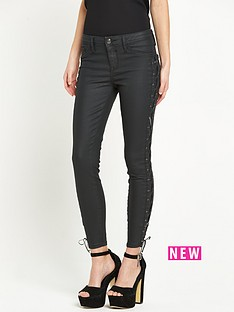 river-island-lace-up-coated-jeans