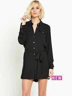 river-island-shirt-playsuit