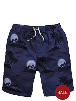 v-by-very-boys-hawaiian-print-swim-shorts