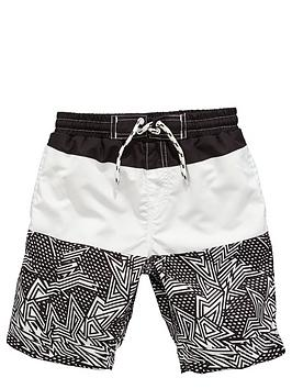v-by-very-boys-geometric-colour-block-swim-shorts