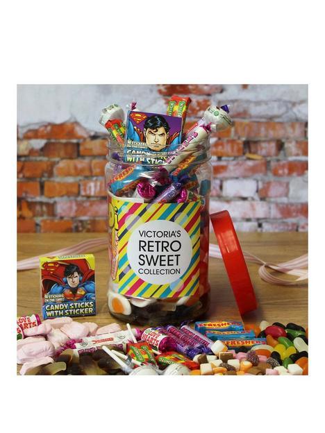personalised-retro-sweet-jar-medium