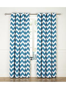 chevron-printed-eyelet-curtains