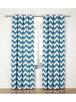 chevron-printed-eyelet-curtains