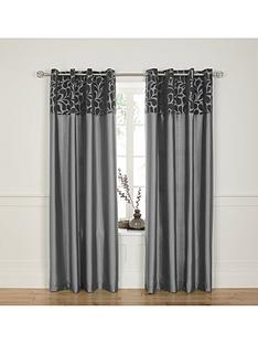 vienna-flock-faux-silk-eyelet-curtains