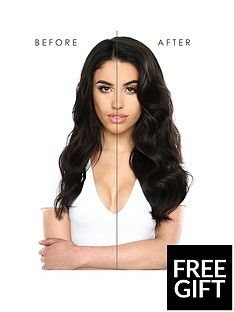 b52be5e48 Beauty Works Double Hair Set Clip-In Extensions 18 Inch 100% Remy Hair -  180 grams