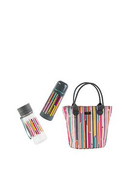 Photo of Beau & elliot linea insulated lunch bag with vacuum flask & hydration bottle