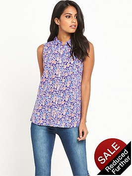 v-by-very-sleeveless-ditsy-print-blousenbsp