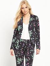 Printed Suit Jacket