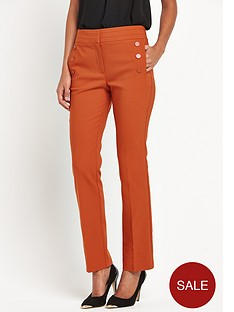 v-by-very-button-front-straight-leg-trouser