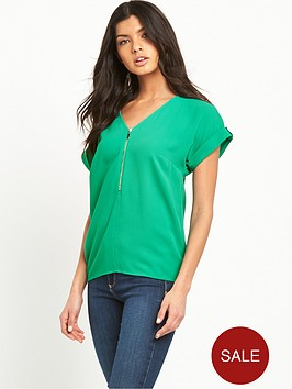 v-by-very-zip-front-boxy-top