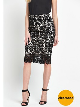 v-by-very-appliquenbsplacenbsppencil-skirt