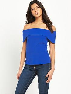 v-by-very-crepe-bardot-top