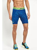 Under Armour Heat Gear Printed Compression Shorts