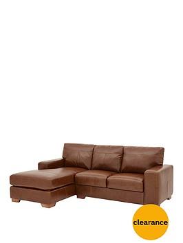 huntington-3-seater-left-hand-italian-leather-chaise-sofa