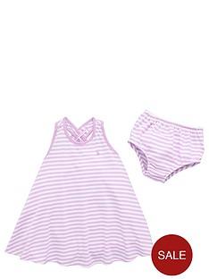 polo-ralph-lauren-babynbspgirls-stripe-dress-and-briefs-set