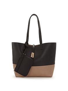 oasis-colour-block-tote-bag